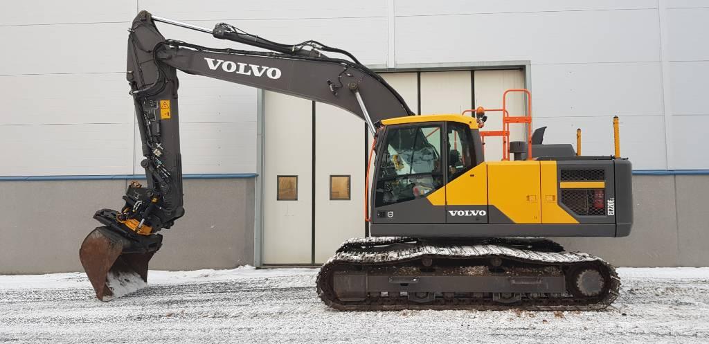 Volvo EC220EL, Telakaivukoneet, Maarakennus