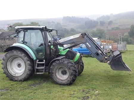 Deutz Agroton K430 Tractor