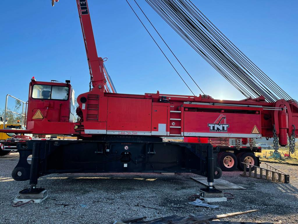 Liebherr LR 1350, Crawler Cranes, Construction Equipment