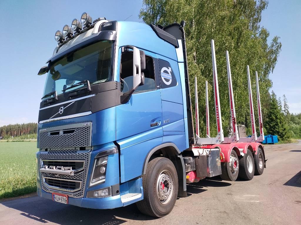 Volvo FH750 8x4 puuvarustus, Puuautot, Kuljetuskalusto