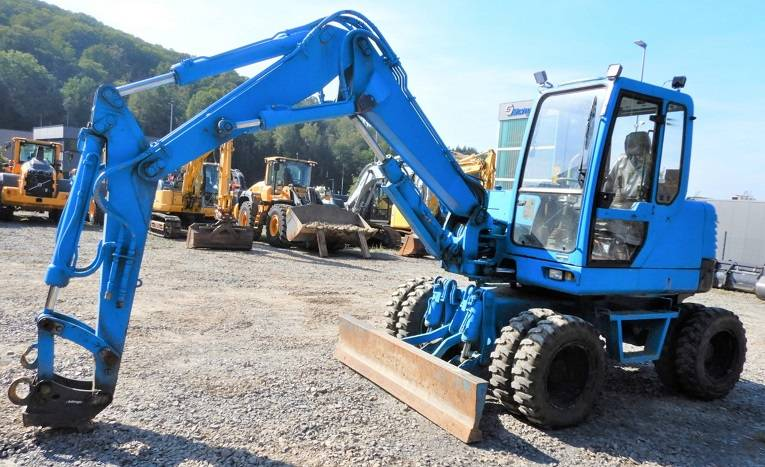Komatsu PW95, Wheeled Excavators, Construction Equipment