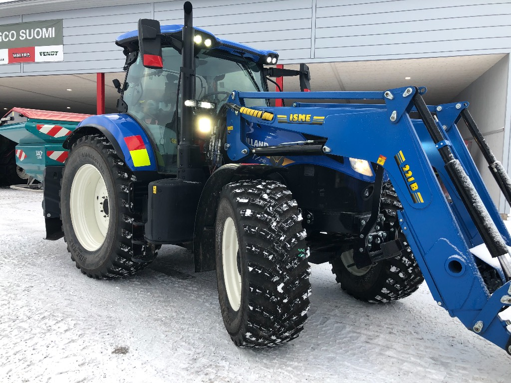 New Holland T 7.210 AC, Traktorit, Maatalous