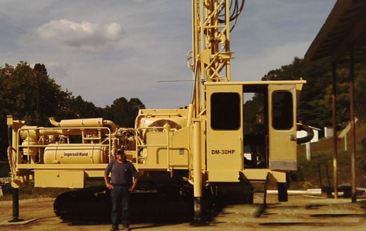 Ingersoll Rand DM30 DL201, Surface drill rigs, Construction Equipment