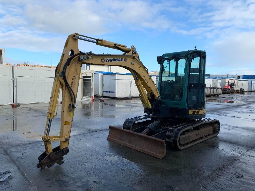 Yanmar VIO 50 U, Mini excavators < 7t (Mini diggers), Construction