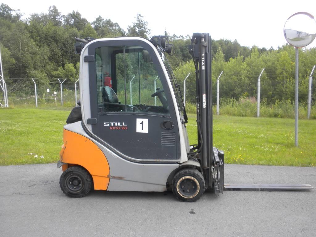 Still RX70-20, Diesel trucks, Material Handling