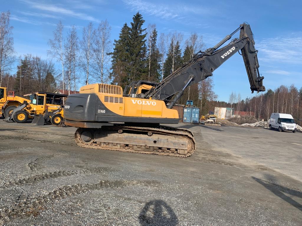 Volvo EC 460 LC HR Demolition, Purkukoneet, Maarakennus