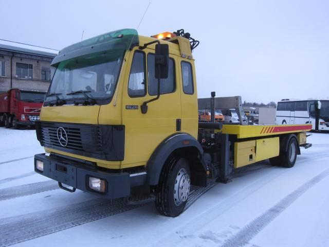 Mercedes-Benz 1820 L OMARS + ATLAS - Kran, Autoveokid, Transport