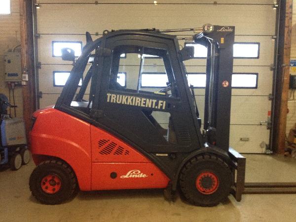 Linde H35D, Dieseltrukit, Materiaalinkäsittely