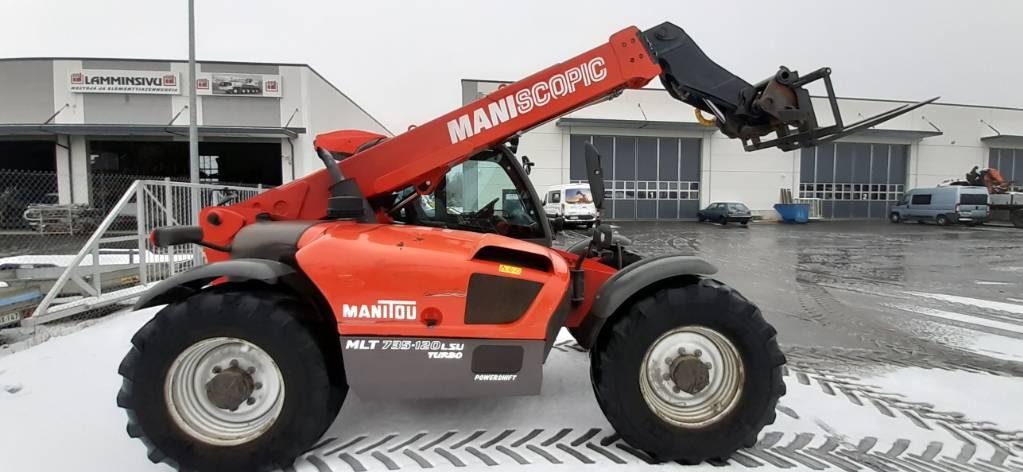 Manitou MLT 735-120 LSU PS, Kurottajat, Maarakennus
