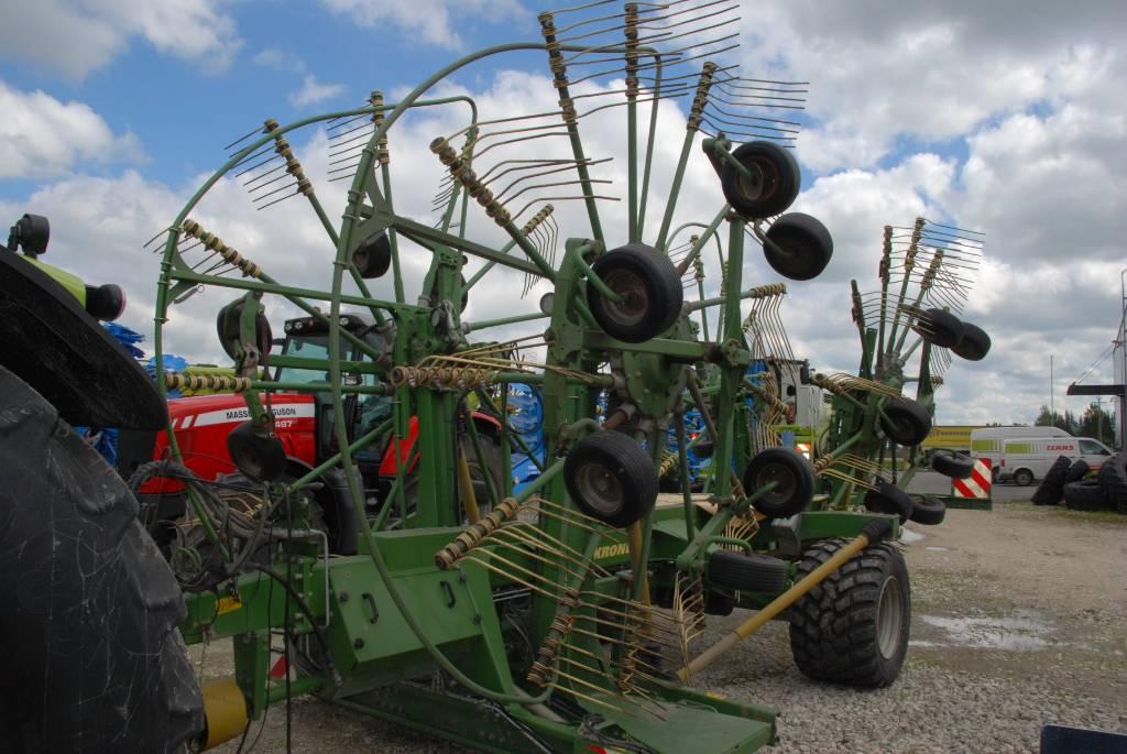 Krone Swadro 1400 Plus, Šieno grėbliai ir vartytuvai, Žemės ūkis