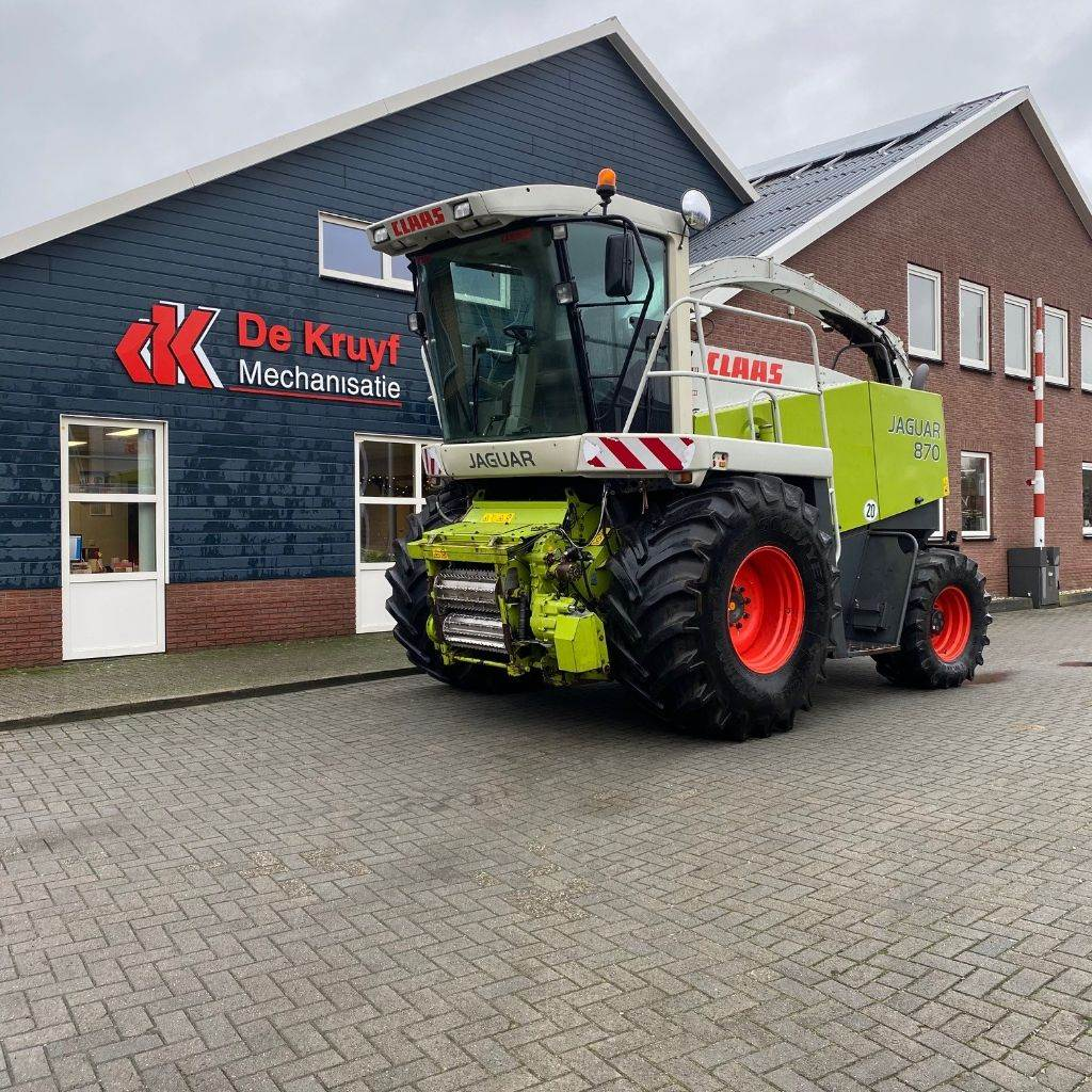 CLAAS JAGUAR 870, Forage harvesters, Agriculture