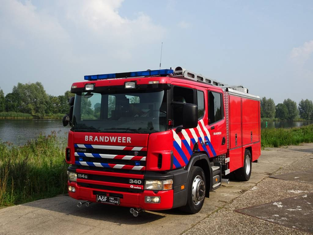 Scania P114 G 340 Rosenbauer, Fire trucks, Transportation