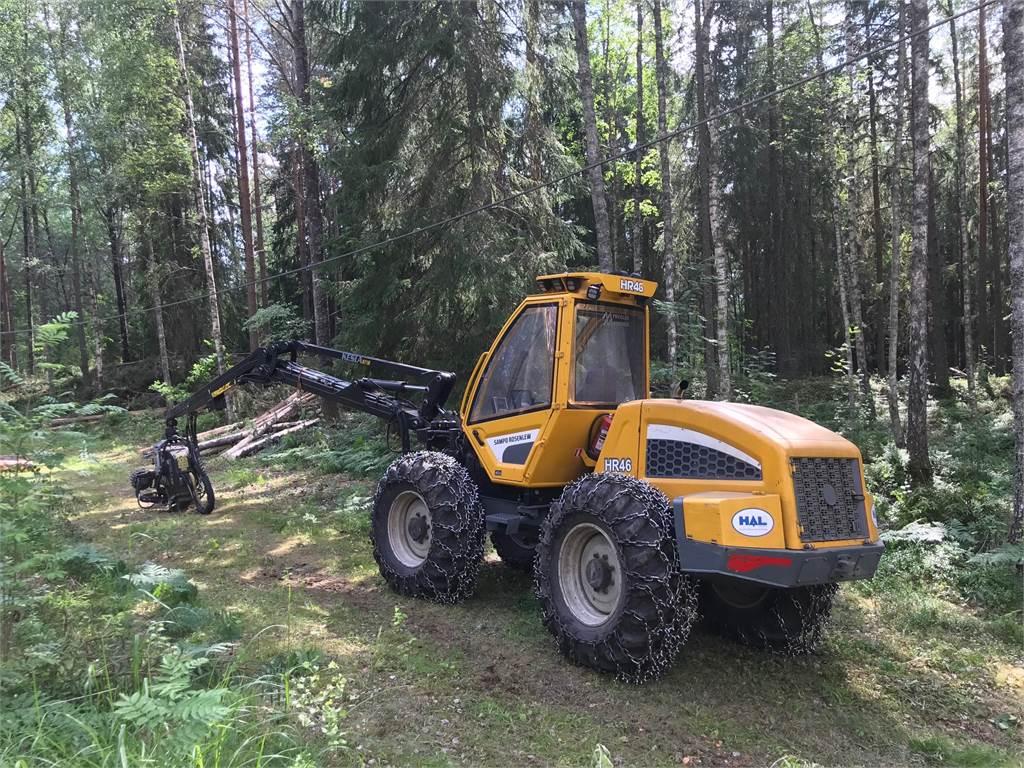 Sampo-Rosenlew HR 46, Skördare, Skogsmaskiner