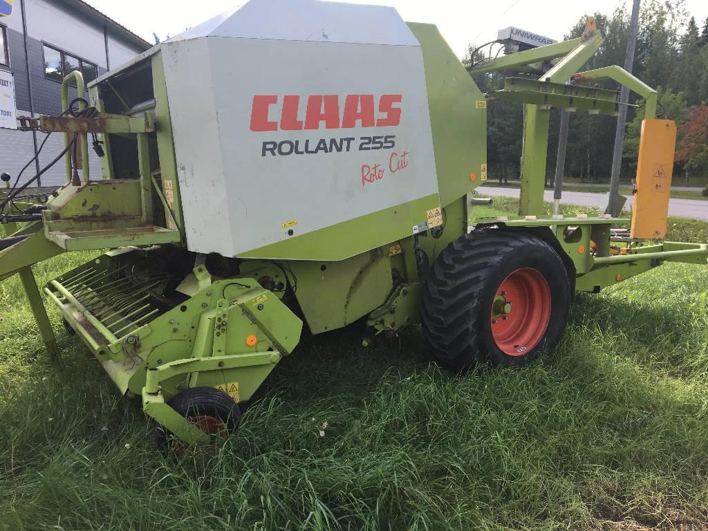 CLAAS Rollant 255 RC Uniwrap, Pyöröpaalaimet, Maatalous