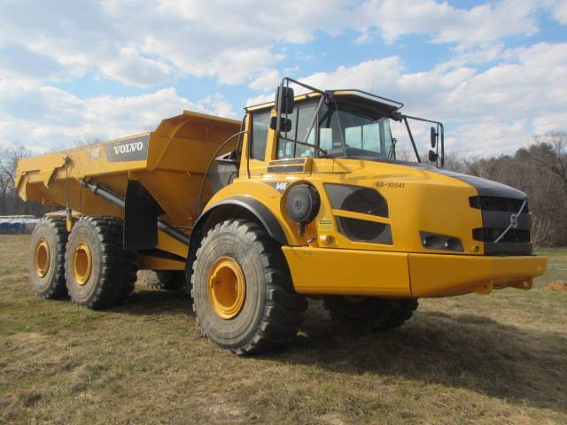 Volvo A40F, Articulated Dump Trucks (ADTs), Construction Equipment