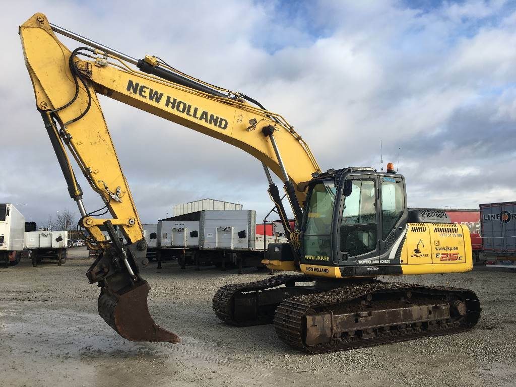 New Holland E 215 C LC, Crawler excavators, Construction