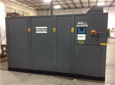 Atlas Copco GA 132VSD, Compressed air dryers, Industrial