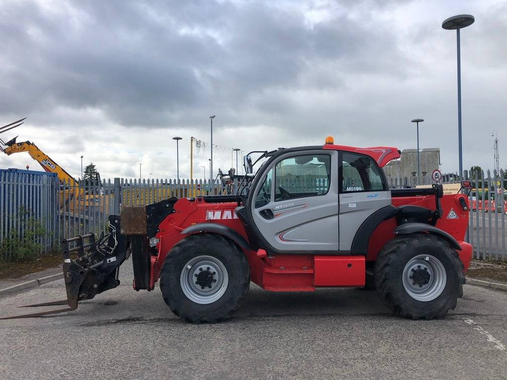 Manitou MT 1840, Telescopic handlers, Construction