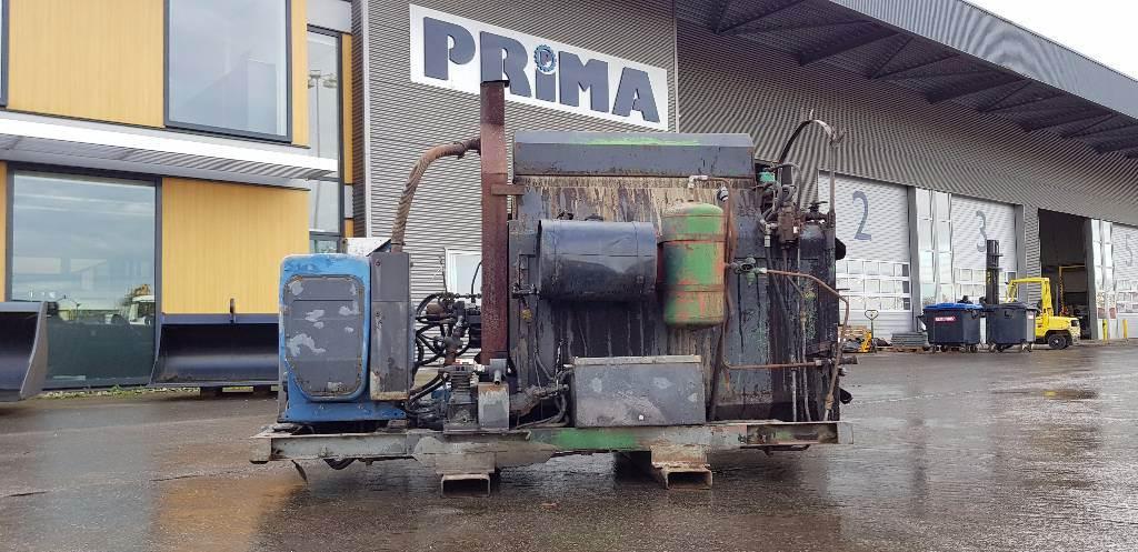 Breining Mono 500 FU, Bitumen sprayers, Bouw