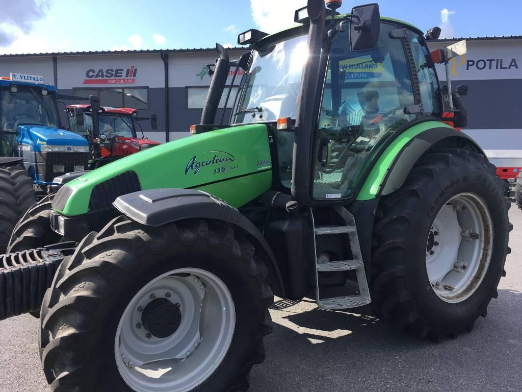 Deutz-Fahr 135 Agrotron MK 3, Traktorit, Maatalous