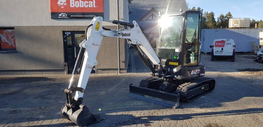Bobcat E 27Z, Mini digger, Construction Equipment