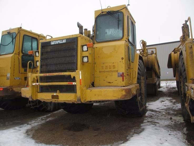Caterpillar 631E II, Scrapers, Construction Equipment