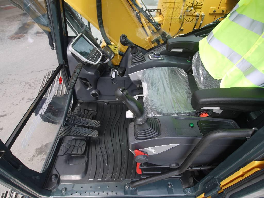 Hyundai HX 180 L, Telakaivukoneet, Maarakennus