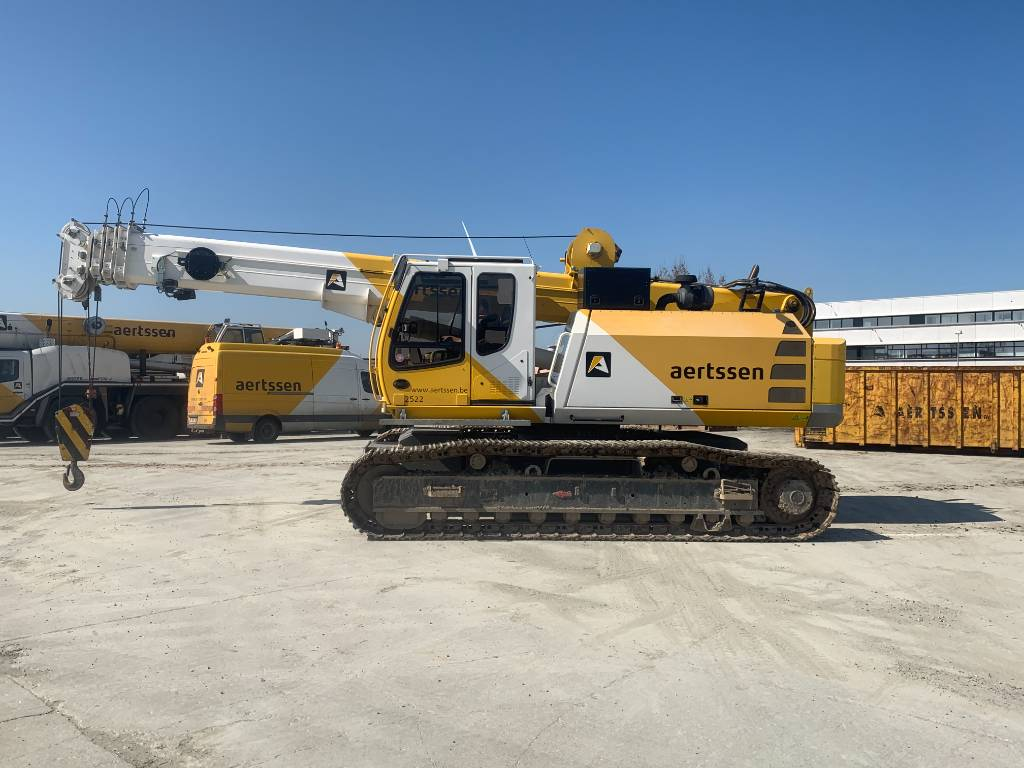 Sennebogen 643 R HD, Tracked cranes, Construction