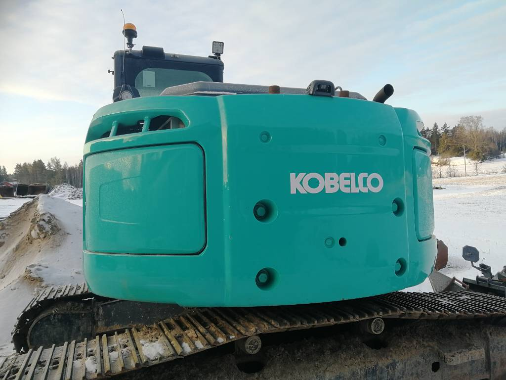 Kobelco SK 230 SR LC-3, Crawler excavators, Construction