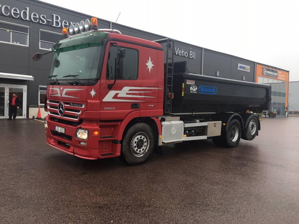 Mercedes-Benz Actros 2555, Lastväxlare/Krokbilar, Transportfordon