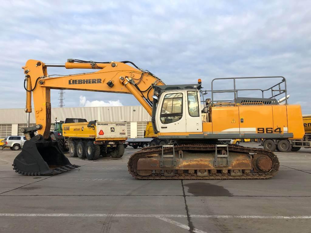 Liebherr R 964 C HD, Crawler excavators, Construction