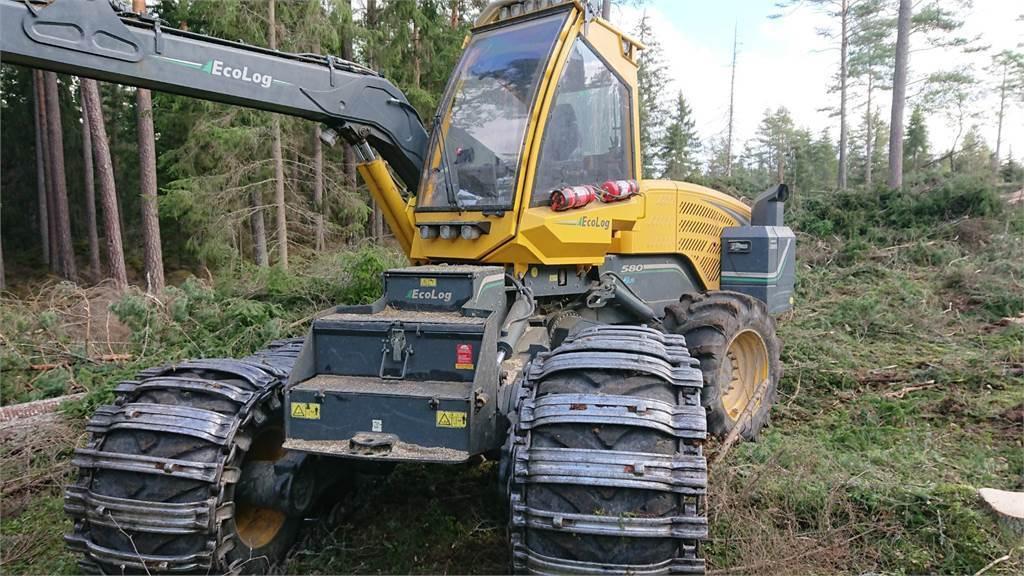 Eco Log 580E, Skördare, Skogsmaskiner