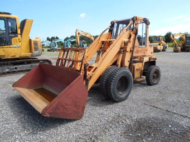 Toyota 3SD25, Wheel loaders, Construction