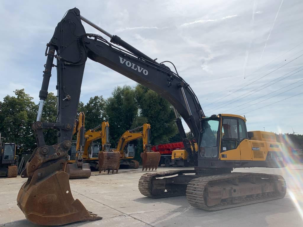 Volvo EC 380 D L, Crawler excavators, Construction