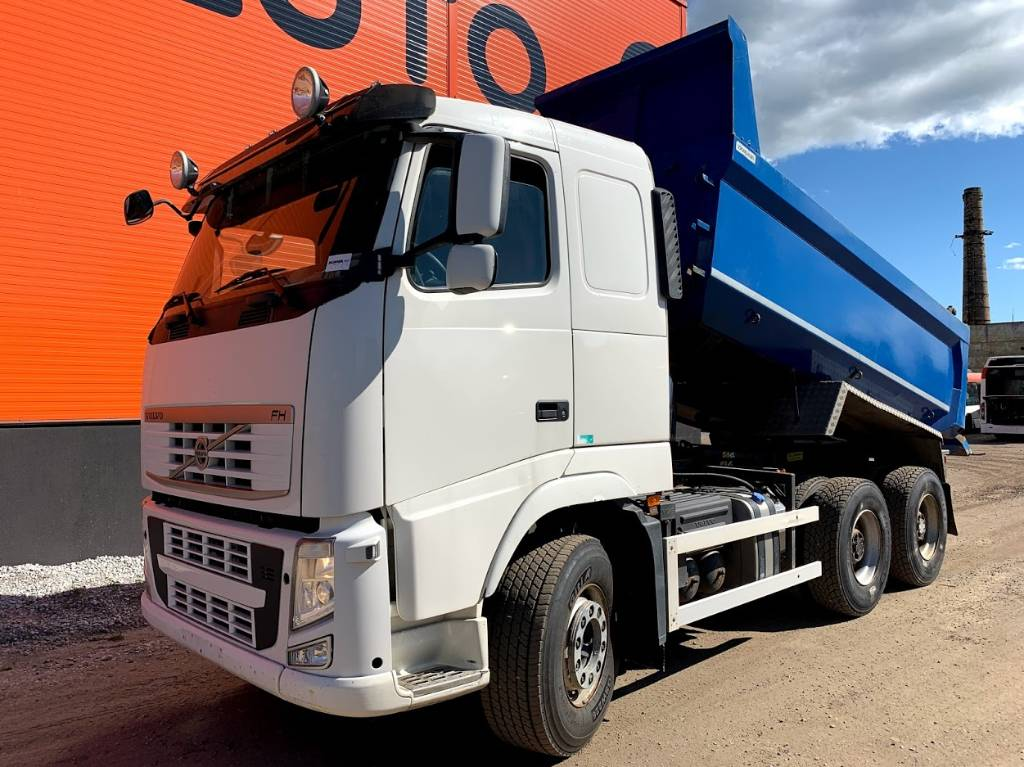 Volvo FH 13 540 6x4 Full steel + Retarder, Dump Trucks, Trucks and Trailers