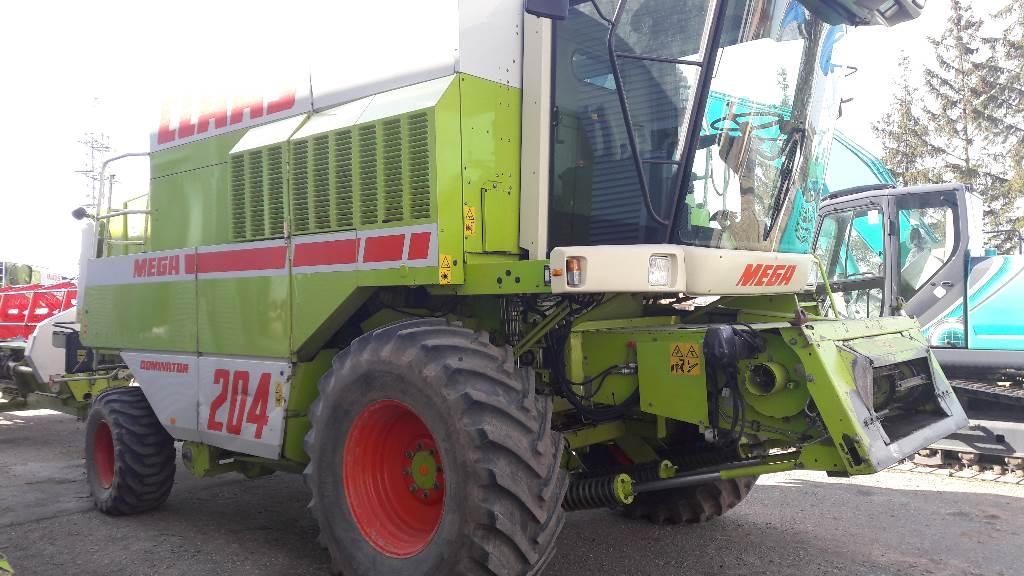 CLAAS Mega 204, Derliaus nuėmimo kombainai, Žemės ūkis