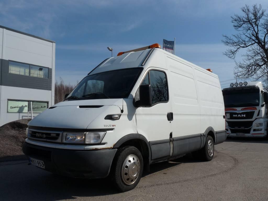 Iveco Daily 50 C 17 HPT huoltoauto, Pakettiautot, Kuljetuskalusto