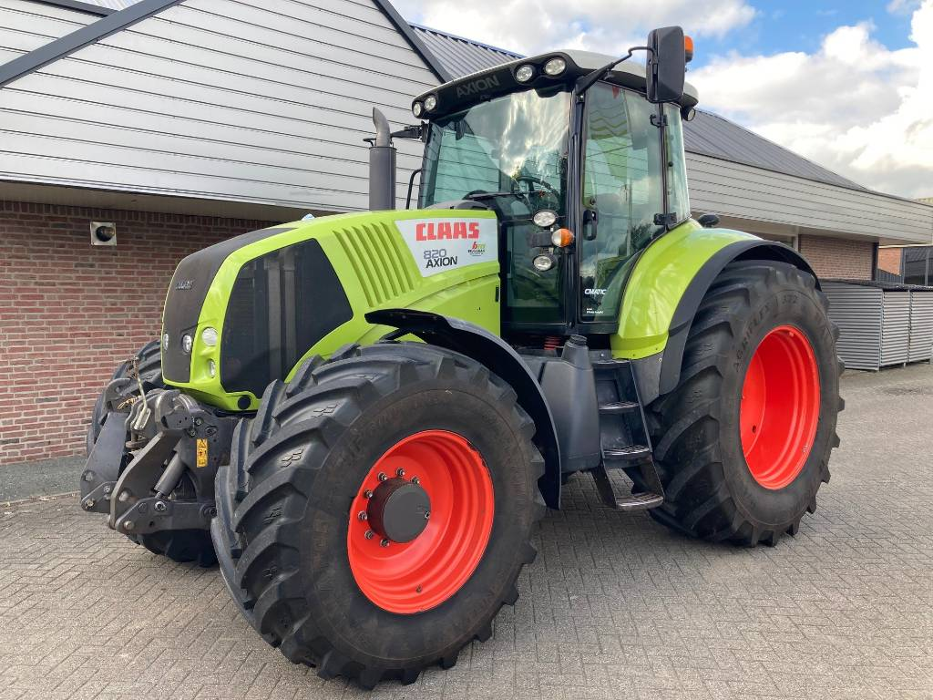 CLAAS Axion 820 Cmatic, Tractors, Agriculture