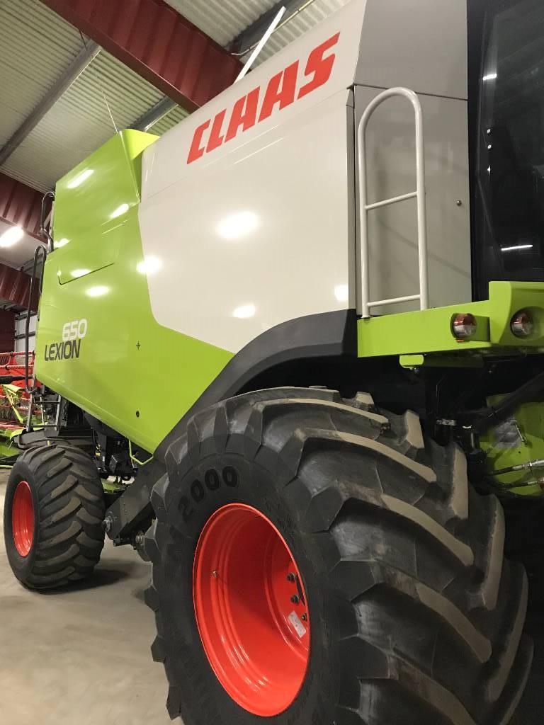 CLAAS Lexion 650 25', 823tim!!, Skördetröskor, Lantbruk