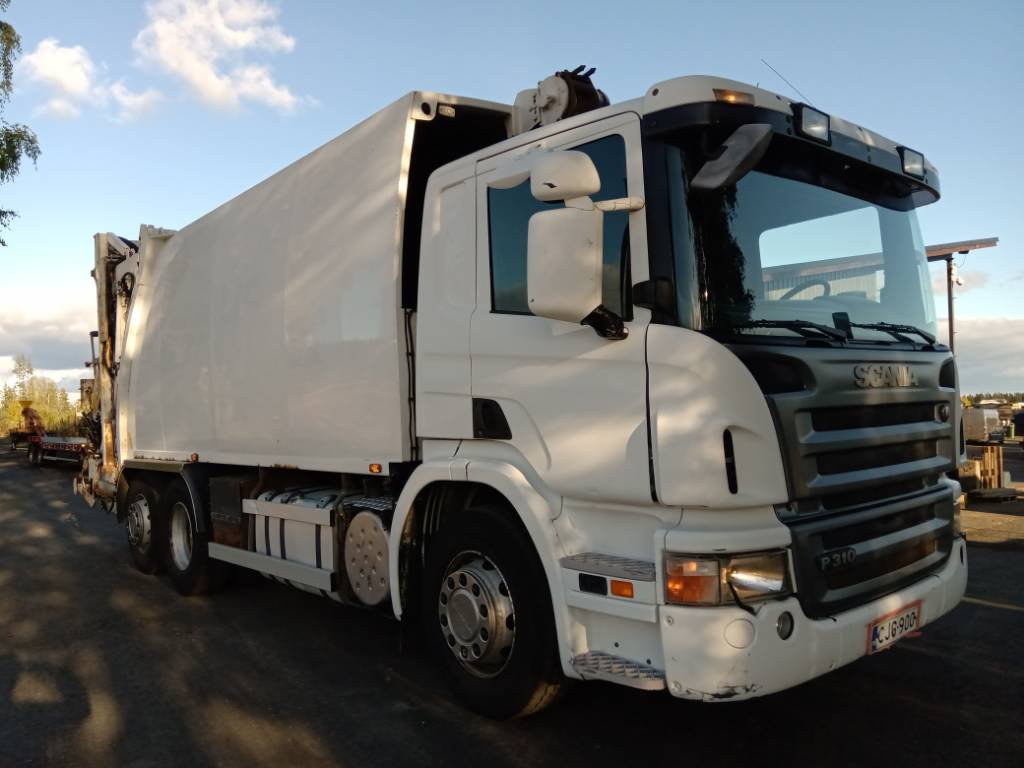 Scania P310 6x2 NTM pakkuri nosturilla, Muut kuorma-autot, Kuljetuskalusto