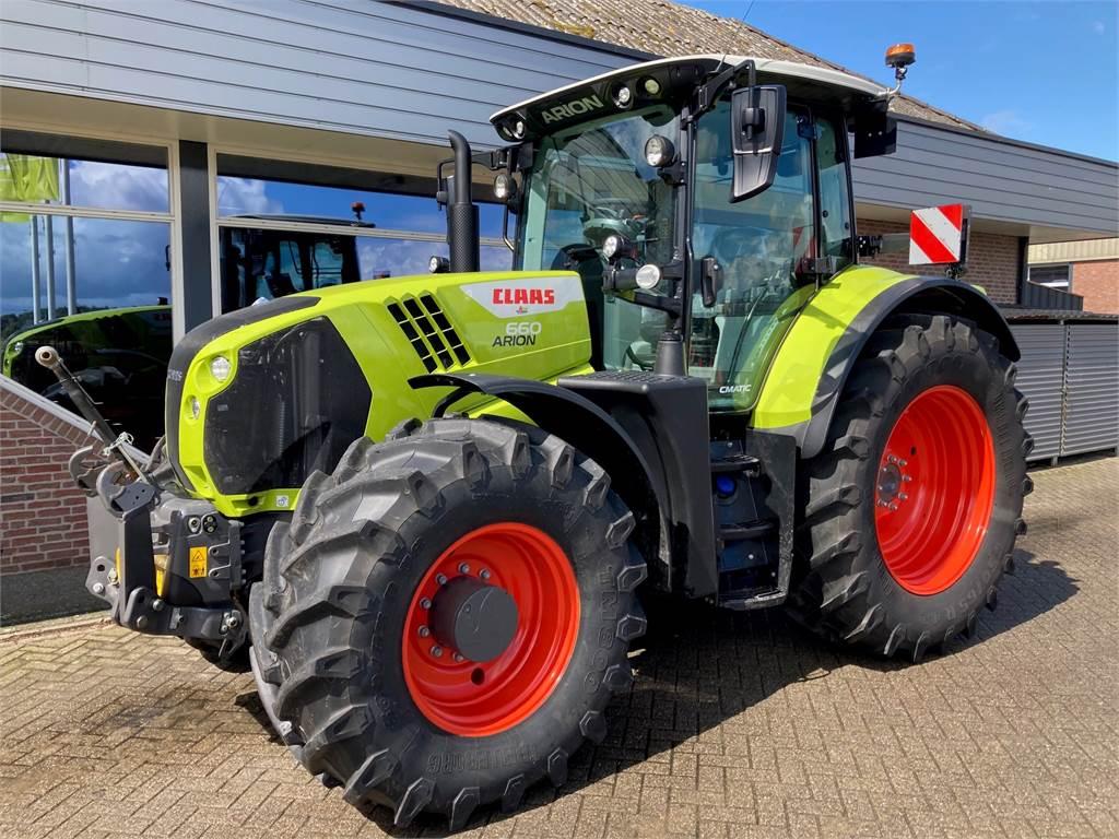 CLAAS Arion 660 Cebis demo, Tractors, Agriculture