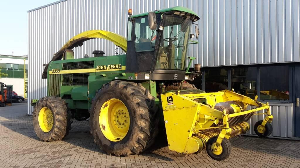 John Deere Hakselaar 6850, Veldhakselaars, Landbouw