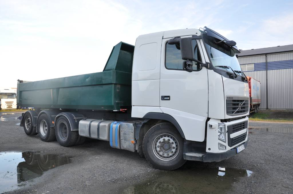 Volvo FH510 8X4, Tippbilar, Transportfordon