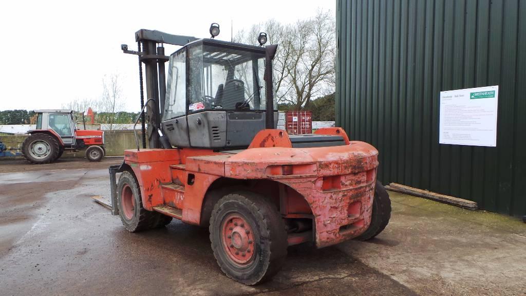 Linde H120 12t FLT, Diesel trucks, Material Handling