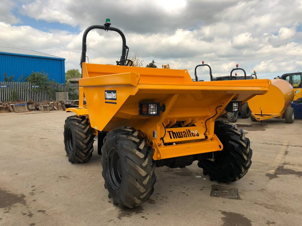 Thwaites 6 Tonne Straight Tip MACH 2060, Site dumpers, Construction