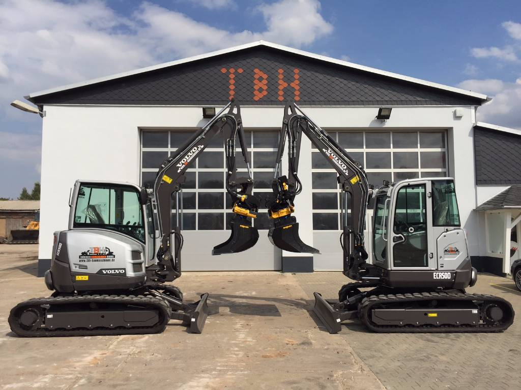 volvo ecr 50 d inkl engcon tiltrotator ec05 preis 53. Black Bedroom Furniture Sets. Home Design Ideas