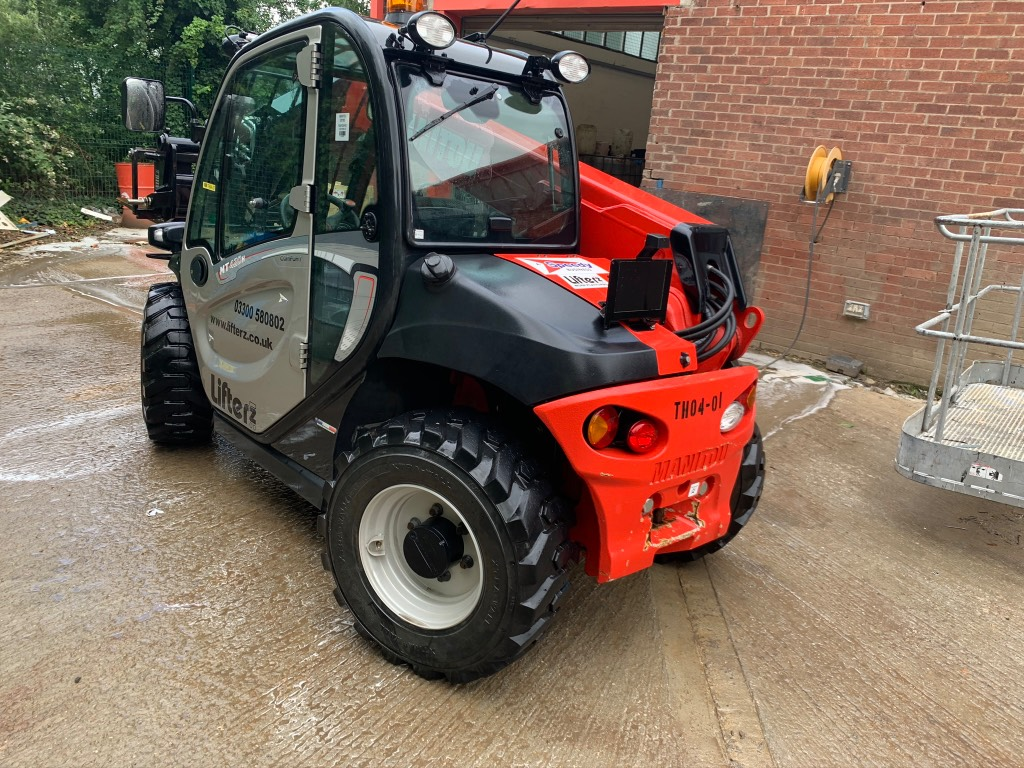 Manitou MT420H, Telescopic handlers, Construction