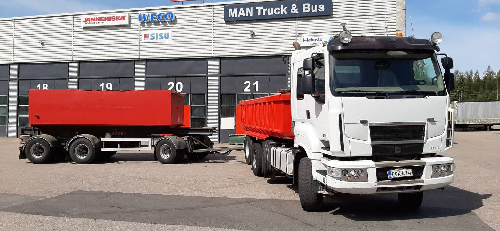 Sisu C600, Tipper trucks, Transportation
