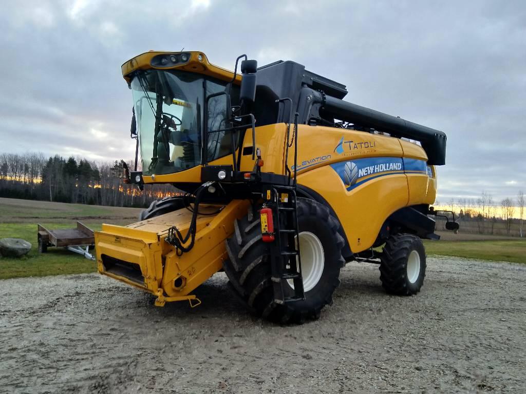 New Holland CX6080 RS, Kombainid, Põllumajandus