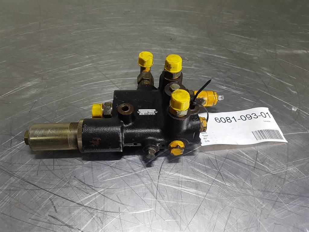Ahlmann AZ18 - Wabco - 4773970150 - Cut-off valve